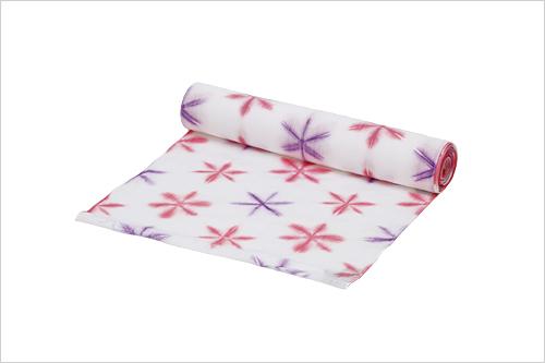 京都いづつ 染色体験 浴衣 着物 雪花絞り反物7